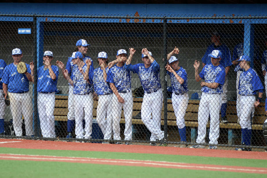 Darien High School hosts Greenwich High School in Class LL varsity baseball in Darien, CT on June 4, 2015. Photo: Shelley Cryan / Stamford Advocate Freelance / Shelley Cryan