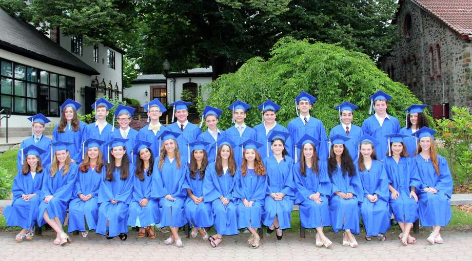 Carmel Academy's class of 2015 includes 28 graduating eighth-graders. Photo: Contributed / Contributed / Greenwich Time Contributed