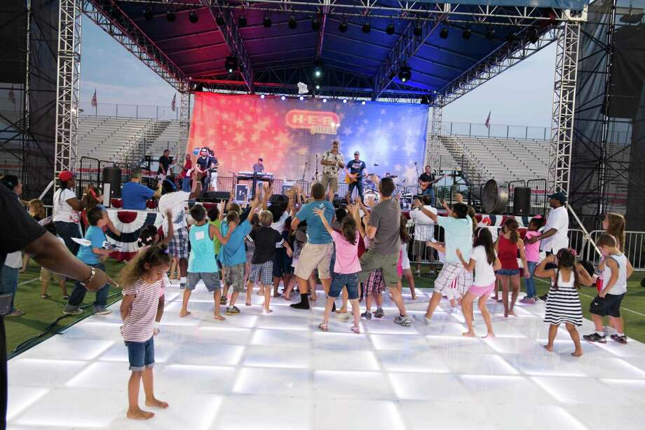 The city of Pearland's Celebration of Freedom, set for 6-10 p.m. Saturday, July 4, will open with a VFW military salute at Pearland High School Football Stadium, 3775 S. Main St. This is a scene from last year.    The city of Pearland's Celebration of Freedom, set for 6-10 p.m. Saturday, July 4, will open with a VFW military salute at Pearland High School Football Stadium, 3775 S. Main St. This is a scene from last year. Photo: City Of Pearland