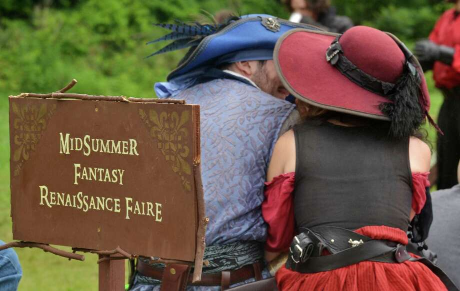 June 27 and 28, 2015 brought The Midsummer Fantasy Reinassance Faire back for its second weekend of the summer at Warsaw Park in Ansonia, Conn. The last weekend of the faire will be July 4-5, 2015 from 11 a.m to 6:30 p.m. Photo: Bailey Wright, For Hearst Connecticut Media / Connecticut Post Freelance