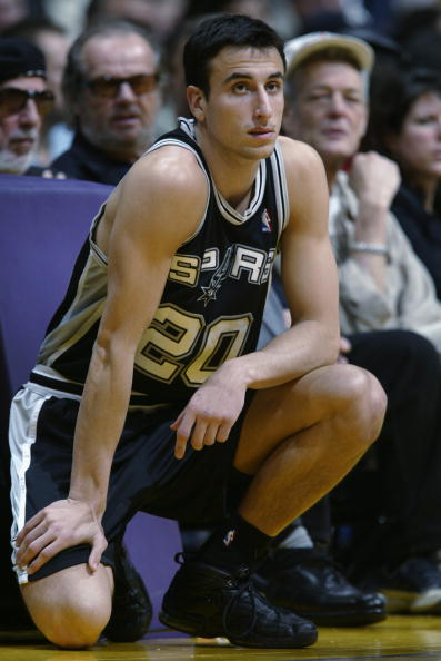 Spurs Manu Ginobili Recalls Sharing Court With Michael