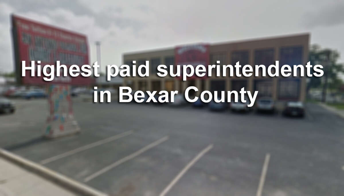 Highest paid superintendents in Bexar County