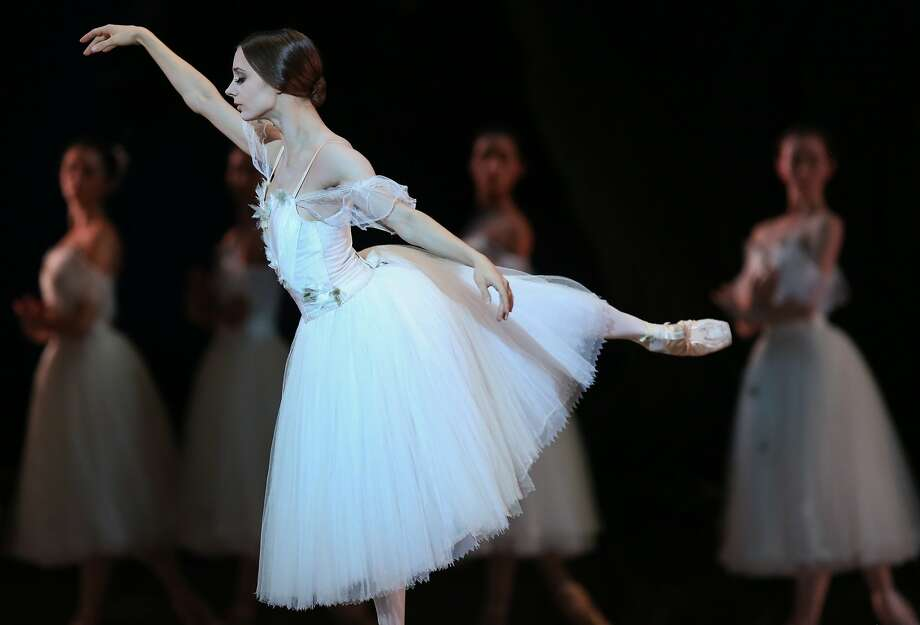 "Maria Kochetkova performs in San Francisco Ballet's ""Giselle"" in January. Photo: Amy Osborne, The Chronicle"