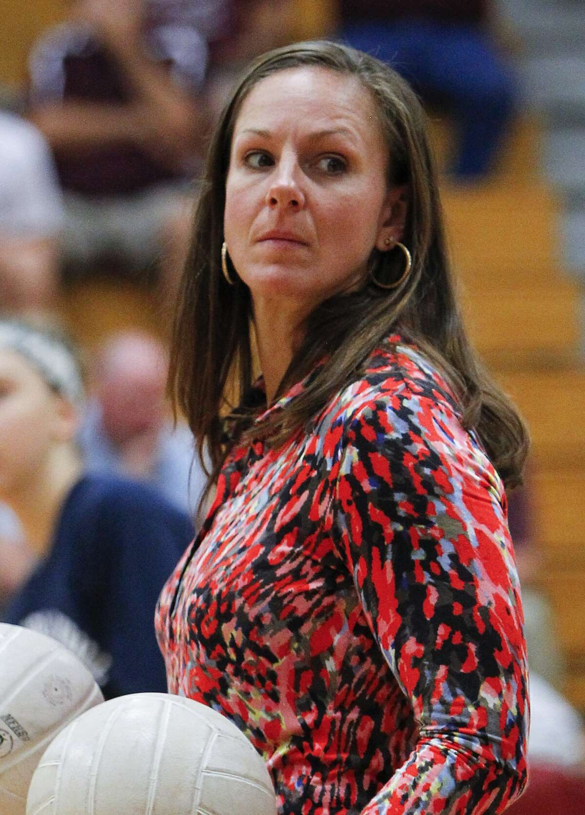 Seven Lakes head volleyball coach Farah Holder