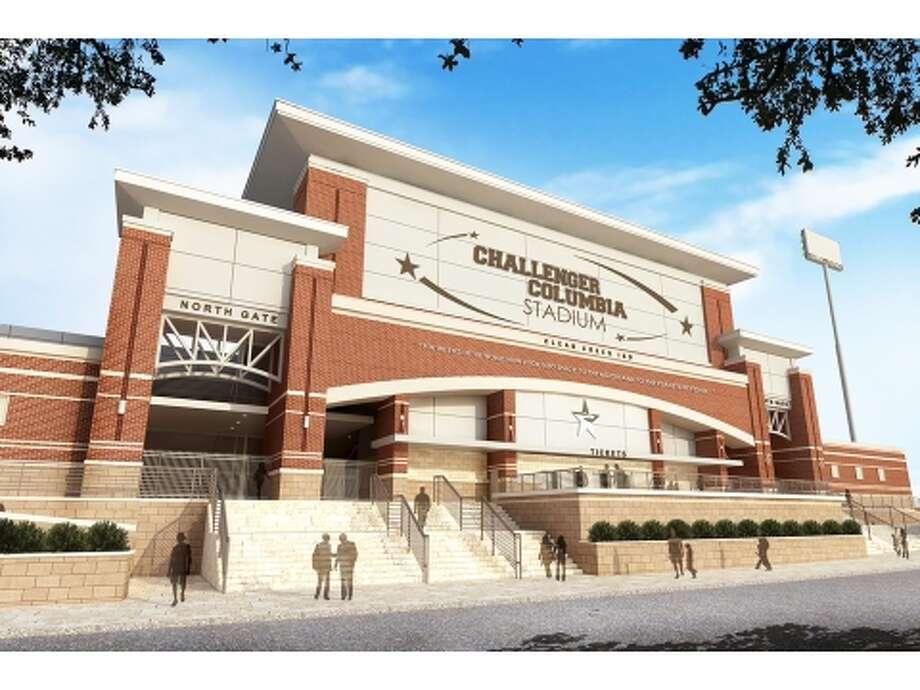 Challenger Columbia Stadium