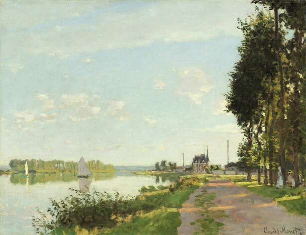 "Claude Monet, ""Argenteuil,"" 1872. Photo: National Gallery Of Art"