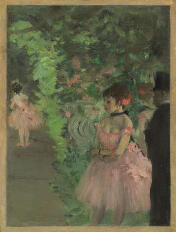 "Edgar Degas, ""Dancers Backstage,"" 1876/1883. Photo: National Gallery Of Art"