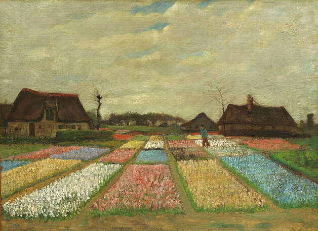 "Vincent van Gogh, ""Flower Beds in Holland,"" c. 1883. Photo: National Gallery Of Art"