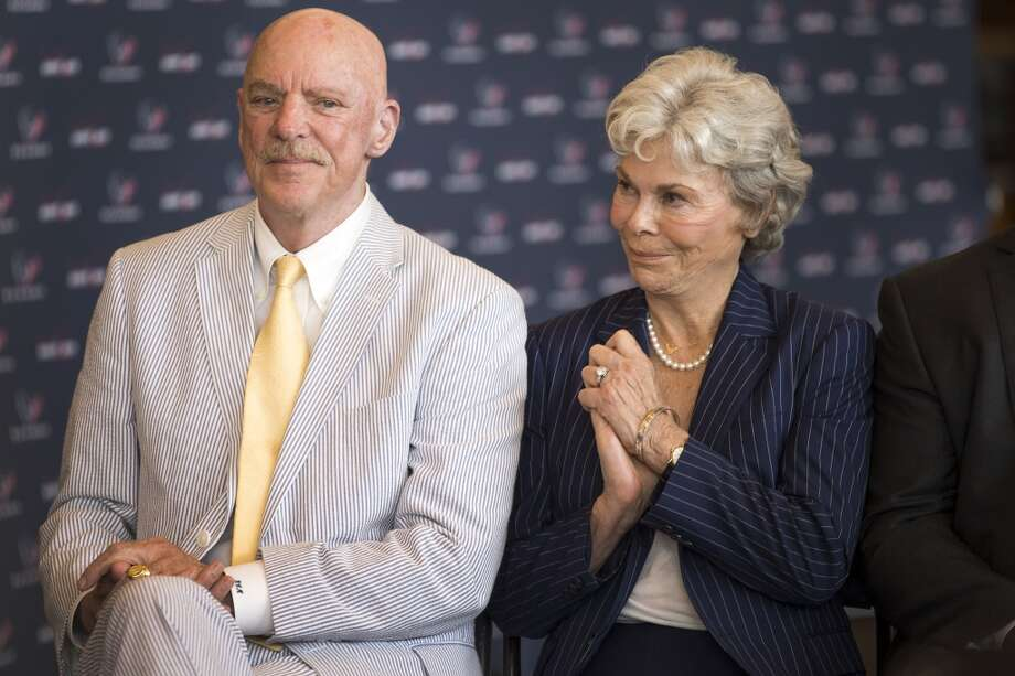 Texans owner Bob McNair and wife Janice announced a $1 million donation to Houston flood relief efforts.Click through the gallery to see other expressions of support for the victims of Houston-area flooding. Photo: Brett Coomer, Houston Chronicle