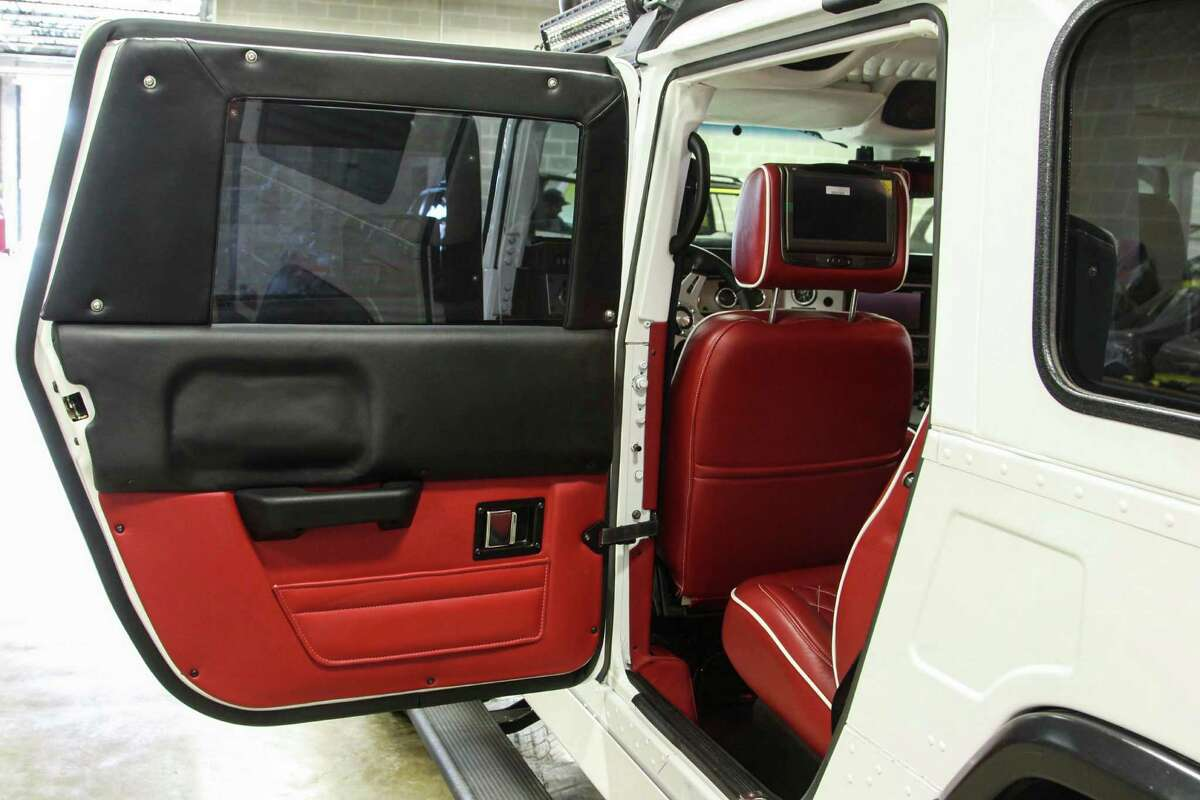 The windows and cab of the vehicle are designed to sustain gunfire from AK-47s, M-16s and even .308-caliber sniper rifles.