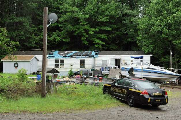 The residence of Richard Laport at 96 Fox Hill Rd. on Tuesday, June 30, 2015, in Edinburg, N.Y. Laport, 51, died after an encounter with officers. (Cindy Schultz / Times Union) Photo: Cindy Schultz / 00032443A