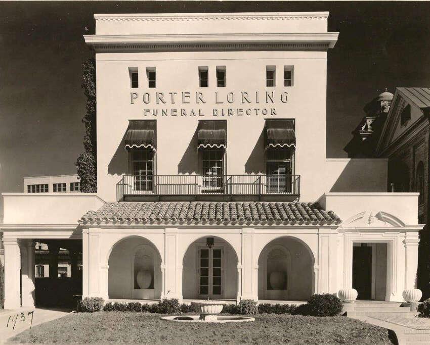 Porter Loring Funeral Home circa 1937.