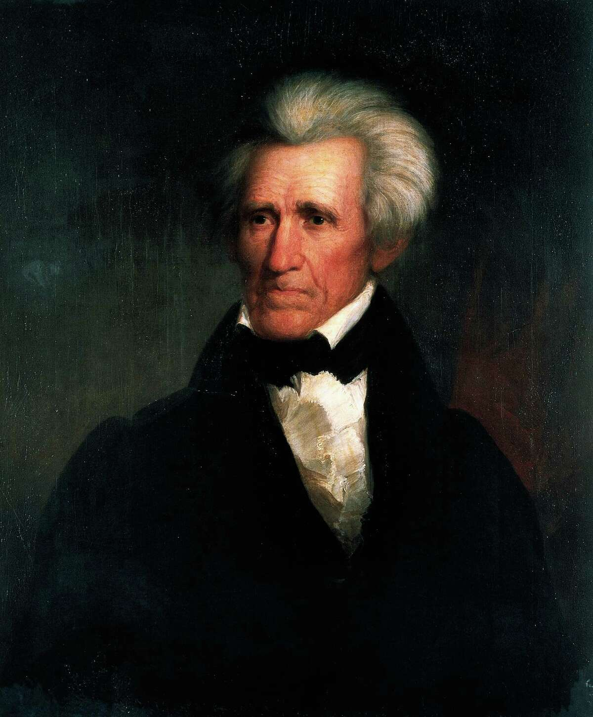 Portrait of Andrew Jackson painting by Asher Brown Durand