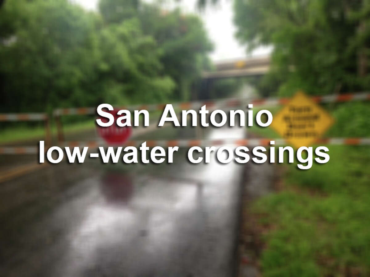 Here are some of the problem areas for flood waters in San Antonio.