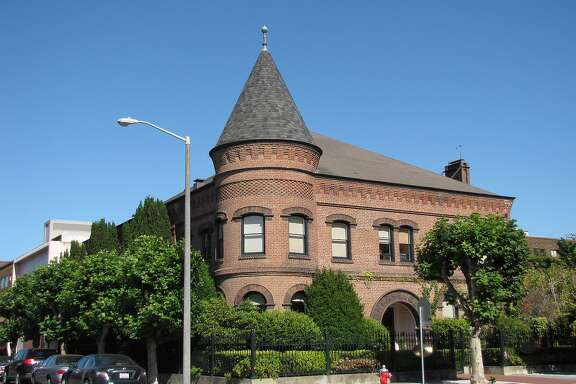 Built in 1893 as the headquarters of the San Francisco Gas Light Company, this two-story brick building designed by Joseph Crockett is like nothing around it in the Marina District.