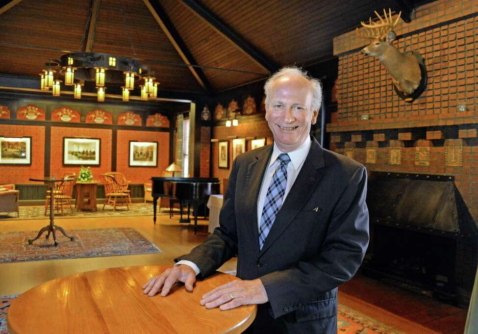 Fort Orange Club general manager James Flaherty in the club's west main lounge Friday June 26, 2015 in Albany, NY. (John Carl D'Annibale / Times Union)