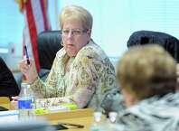 Jackie Heftman, president of the Stamford Board of Education
