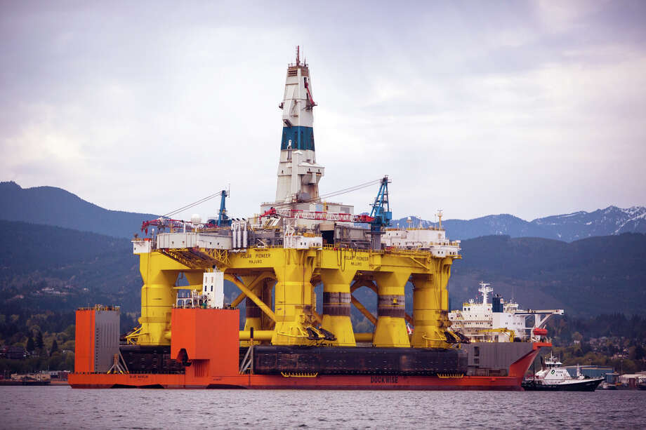 Federal regulators are requiring Shell to have two rigs in the area, in case an emergency forces the company to bore a relief well. But Shell had hoped to keep both of those, including the Polar Pioneer,   simultaneously working. where it was scheduled to undergo maintenance before being moved to Seattle. Seattle Mayor Ed Murray said Monday, May 4, 2015, the Port of Seattle can't host Royal Dutch Shell's offshore Arctic oil-drilling fleet unless it gets a new land-use permit. Shell has been hoping to base its fleet at the port's Terminal 5. (Daniella Beccaria/seattlepi.com via AP, File) MAGS OUT; NO SALES; SEATTLE TIMES OUT; TV OUT; MANDATORY CREDIT Photo: Daniella Beccaria /seattlepi.com /Associated Press / seattlepi.com