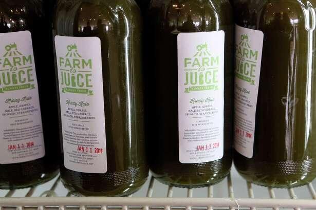 Farm to Juice offers juices, smoothies, nut milks and coconut yogurt.