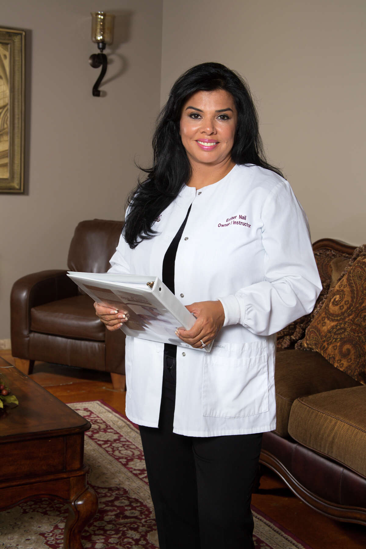 Esther Rodriguez-Nail, owner of San Antonio's Spa D'Sante, this year's repeat Gold winner for best spa. Rodriguez-Nail started her business 25 years ago and has expanded to four locations and the Academy for Massage Therapy Training.