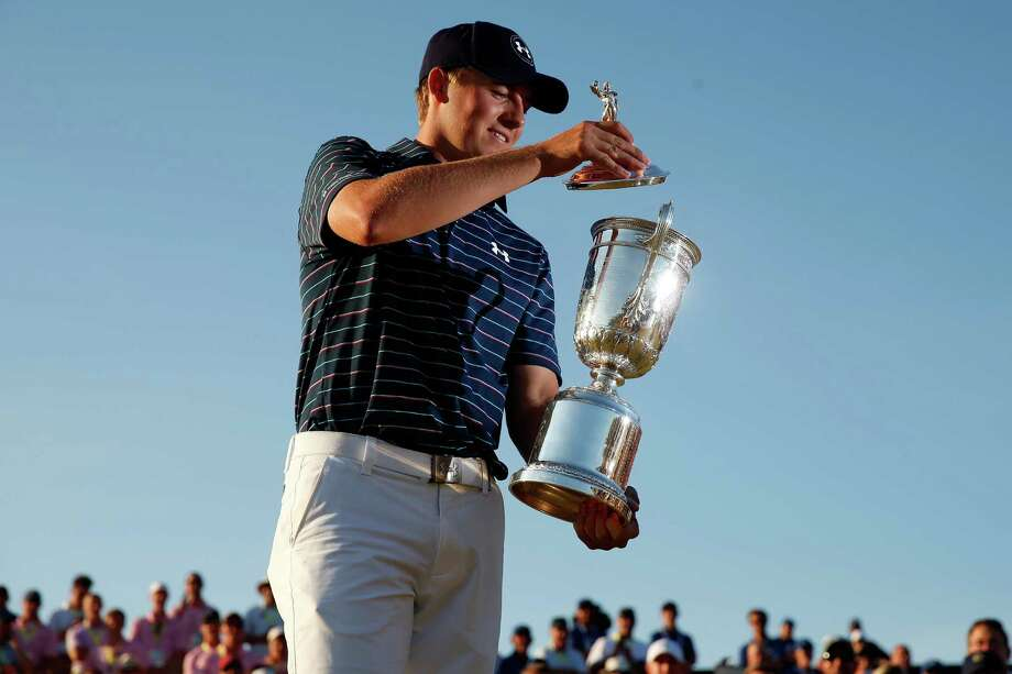 The cup is half full for Jordan Spieth, as the young Texan has two major championships in the bag and two to go for the Grand Slam. Photo: Ezra Shaw, Staff / 2015 Getty Images