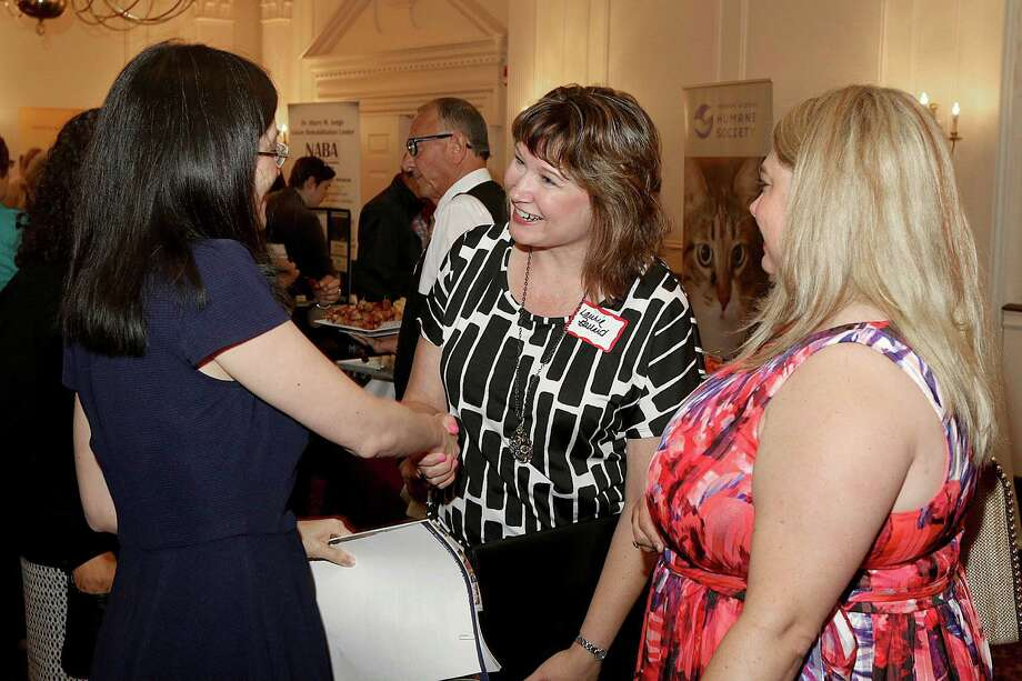 "Were you Seen at the Women@Work Connect ""Working to Make a Difference"" non profit expo and networking event at the Desmond Hotel in Albany on Tuesday, June 30, 2015? Photo: (C) JOE PUTROCK 2014, Joe Putrock/Special To The Times Union"