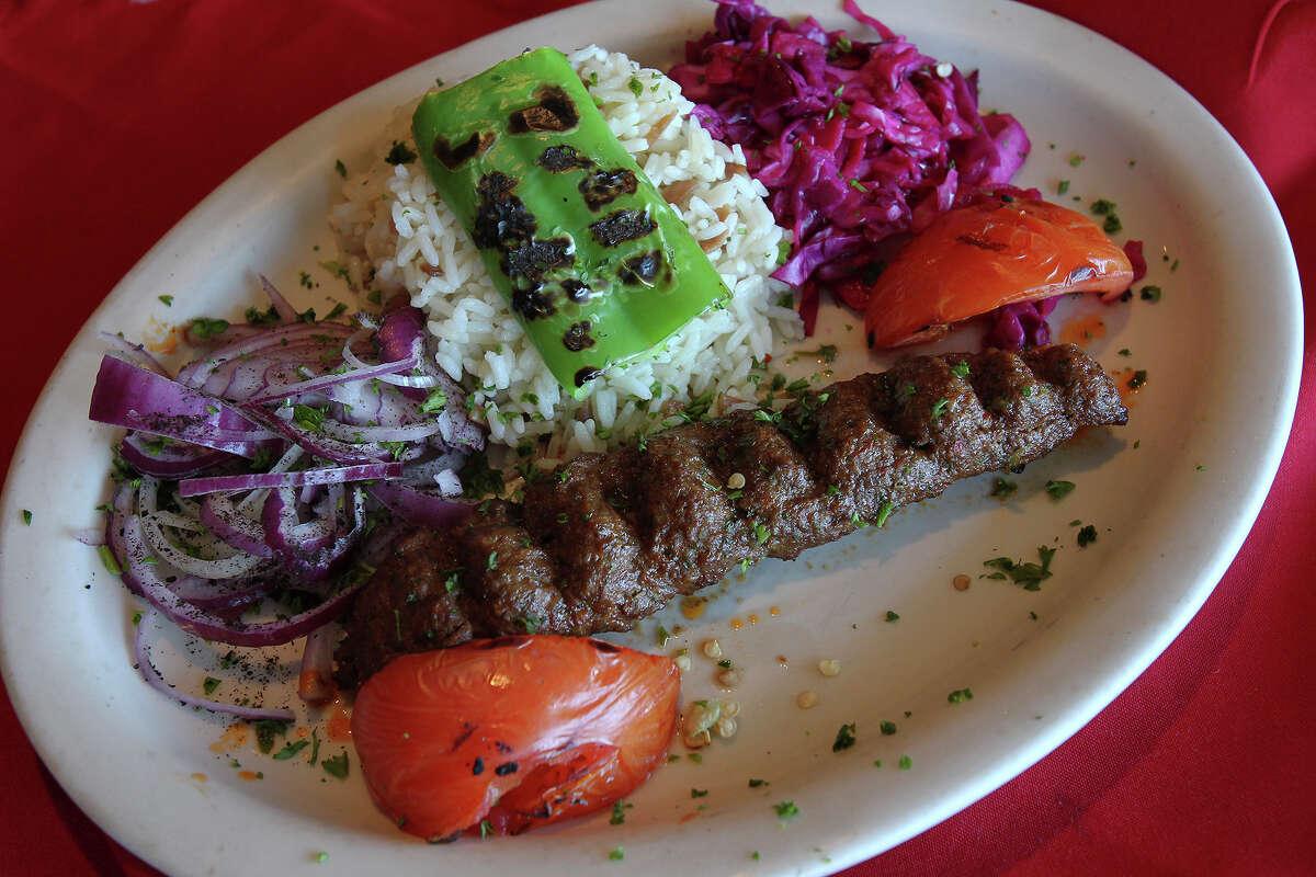 Adana Kebab served at Mediterranean Turkish Grill