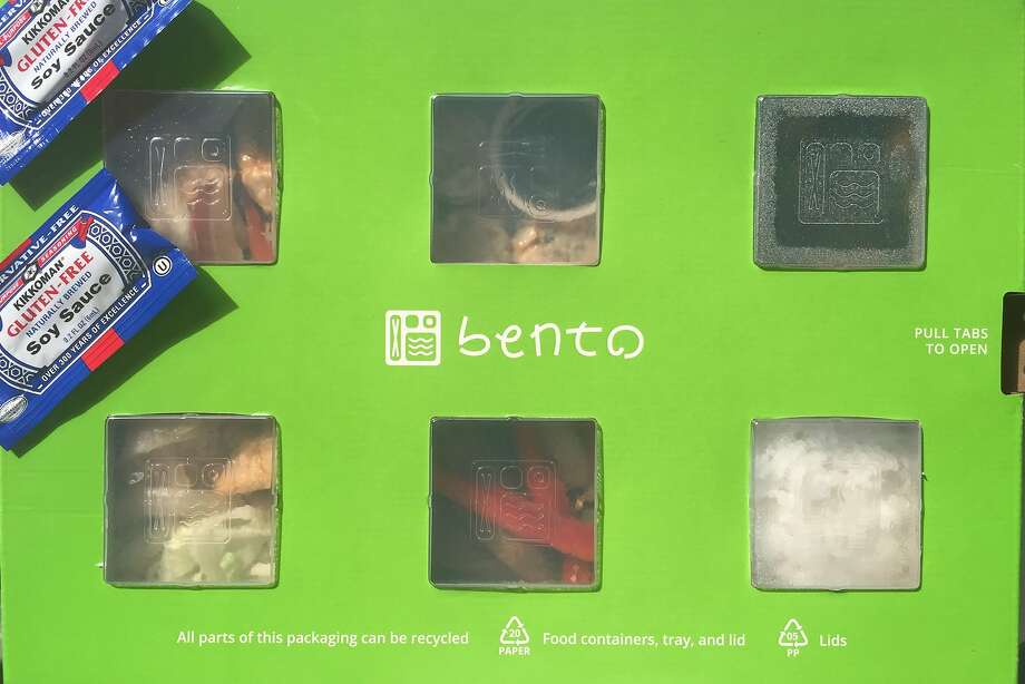 Well-designed packaging from Bento Now Photo: Amanda Gold