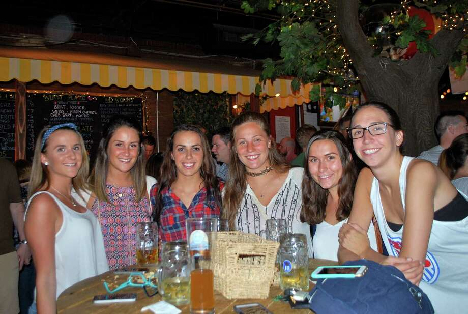 Were you Seen watching the USA-Germany Women's World Cup semifinal game at Wolff's Biergarten in Albany on Tuesday, June 30, 2015? Photo: Silvia Meder Lilly