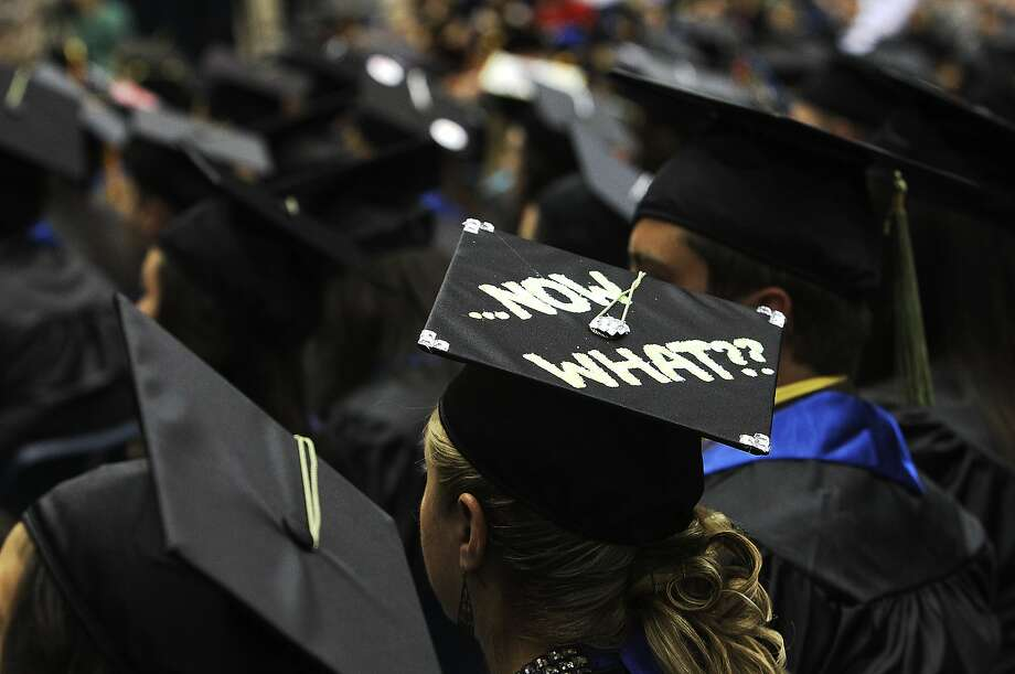 Where should new college graduates go after receiving their degrees? A new Trulia/LinkedIn report says the following cities offer the best combination of wages, entry-level job availability and affordable housing. Photo: Kin Man Hui, SAN ANTONIO EXPRESS-NEWS