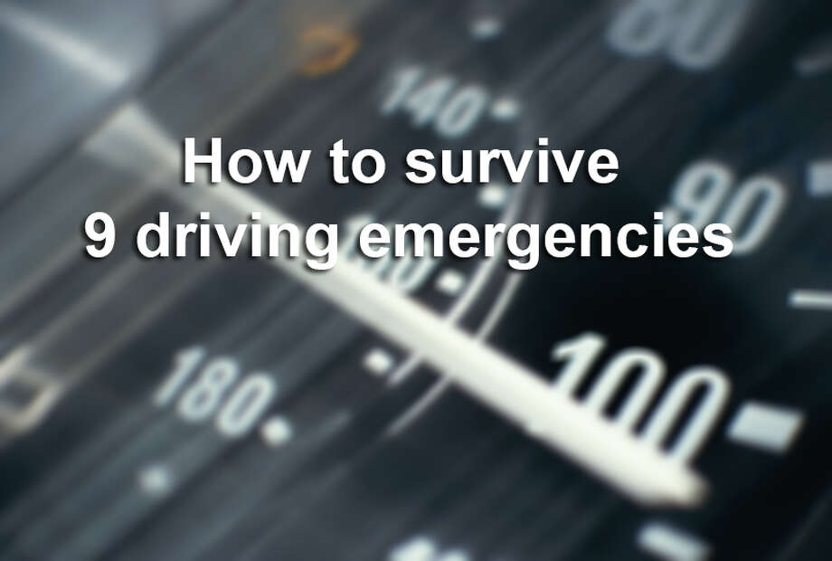 You can avoid a ditch or a wreck if you follow these nine driving tips. Photo: Courtesy