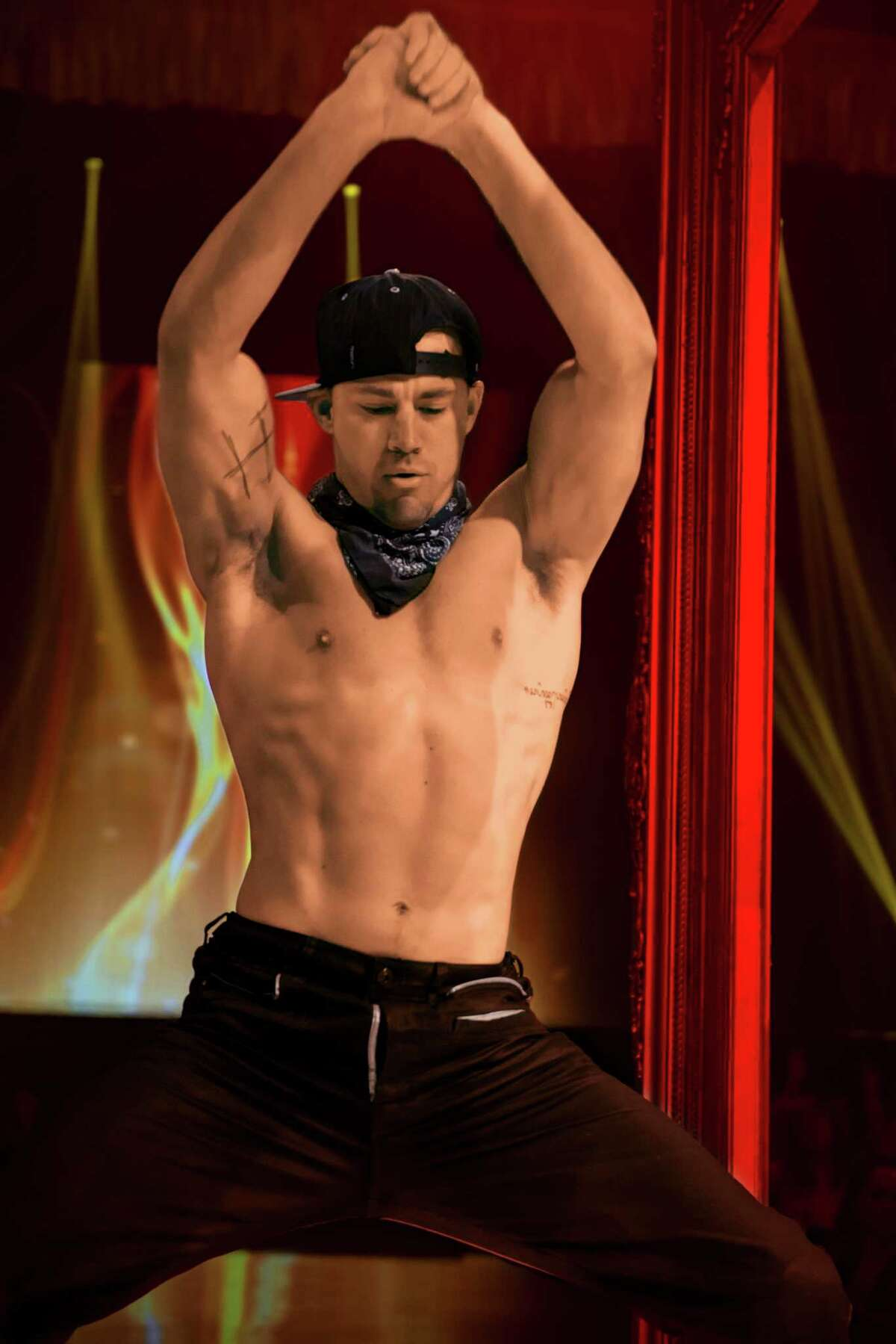 This image released by Warner Bros. Pictures shows Channing Tatum in a scene from the film,