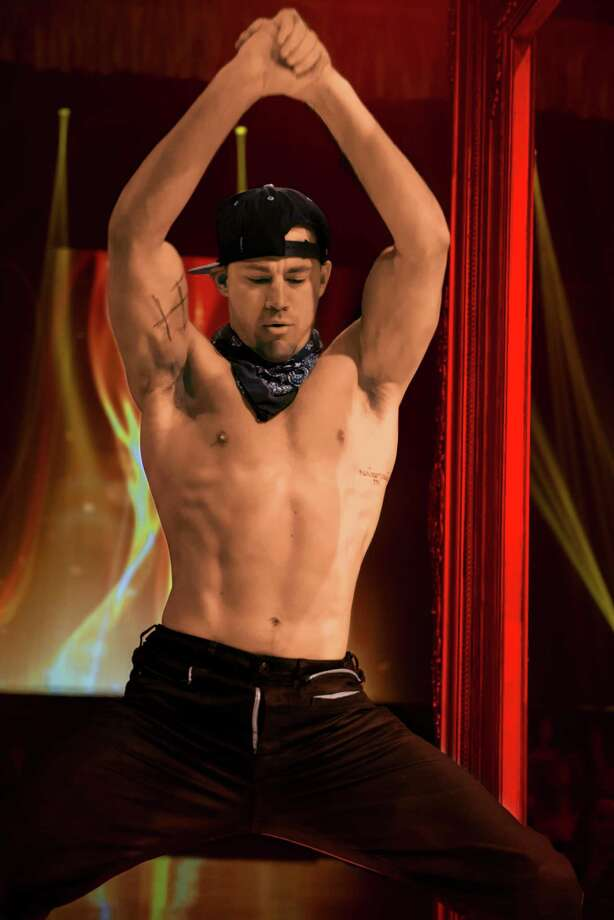 "This image released by Warner Bros. Pictures shows Channing Tatum in a scene from the film, ""Magic Mike XXL,"" in theaters on July 1. (Claudette Barius/Warner Bros. Pictures via AP) Photo: Claudette Barius, HONS / Associated Press / Warner Bros. Pictures"