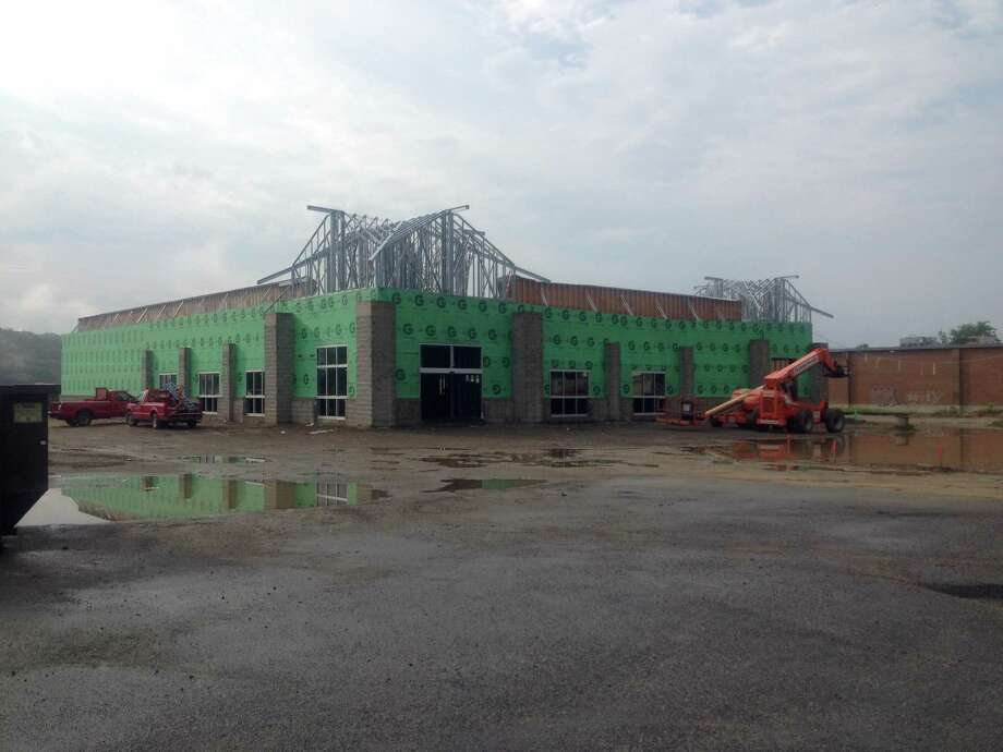 The new 15,000-square-foot Goodwill store under construction at 115 Danbury Road, New Milford. July 1, 2015 Photo: / Susan Tuz, Staff Writer