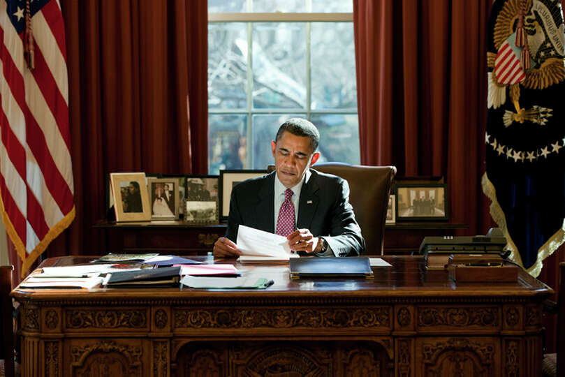 The Oval Office: The official office of the President and his primary place of work, the Oval Office