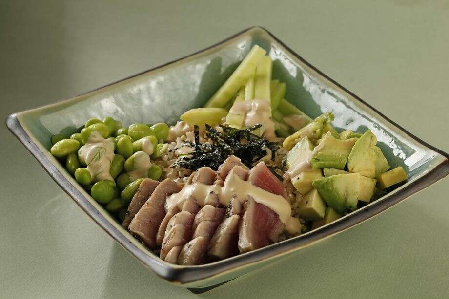 Tuna Rice Bowl as featured in The Weeknight Dish by Amanda Gold. Photo: Craig Lee /Special To The Chronicle