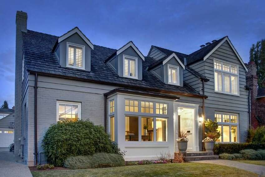 This home, 2642 W. Viewmont Wy. W., is listed for $2,208,000. The four bedroom, four-and-one-half bathroom home is in Seattle's prestigious Magnolia neighborhood, and boasts views of the mountains and Puget Sound.You can see the full listing here.