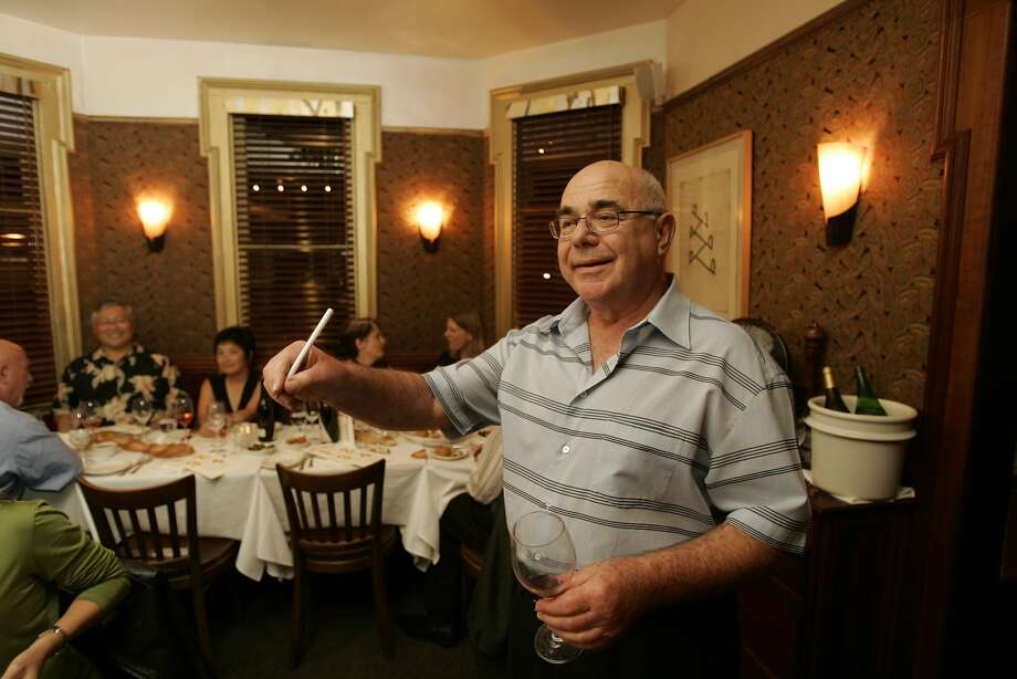 Bay Wolf's Michael Wild at the Oakland restaurant, which is closing after 40 years. Wild is credited with putting Oakland on the culinary map. Photo: Craig Lee, SFC