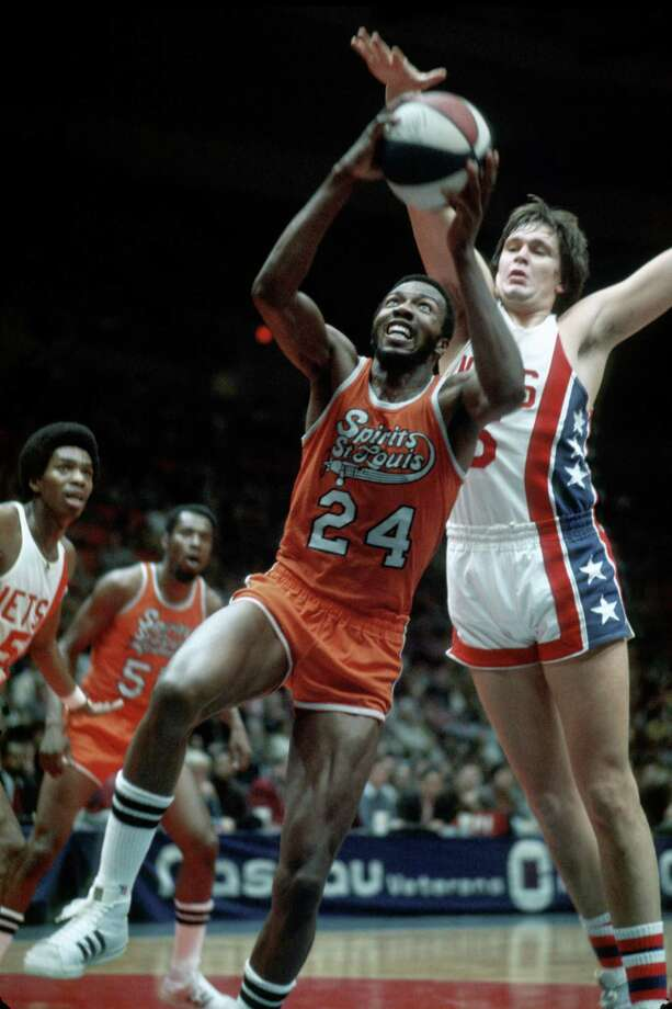 Spirits of St. Louis, ABAAfter not being absorbed into the NBA with other ABA teams before the 1976-77 season, Ozzie and Daniel Silna, the owners of the Spirits of St. Louis cut a deal with the NBA. They received a $2.2 million lump sum and a share of the TV money going to the four ABA teams (Nets, Nuggets, Pacers, Spurs) that joined the NBA -- in perpetuity.That resulted in them getting more than $300 million thanks to the NBA's booming TV revenues over the years. In 2014, the NBA and the Slinas announced a deal that would pay them a reported $500 million and end the perpetual payments. Photo: George Gojkovich, Getty Images / 1975 George Gojkovich
