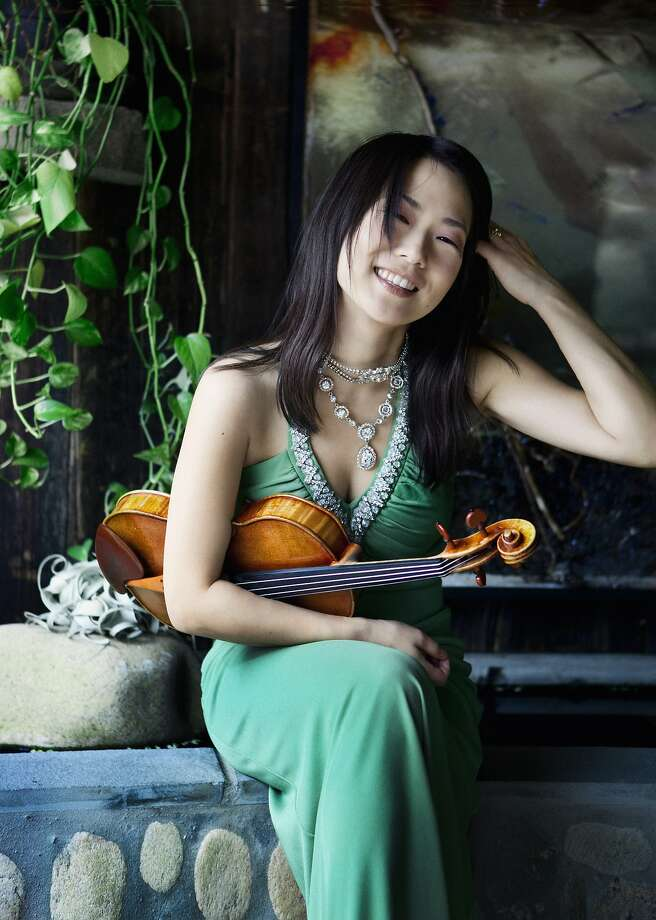Violinist Livia Sohn will play with the Festival Orchestra. Photo: Courtesy Of The Artist