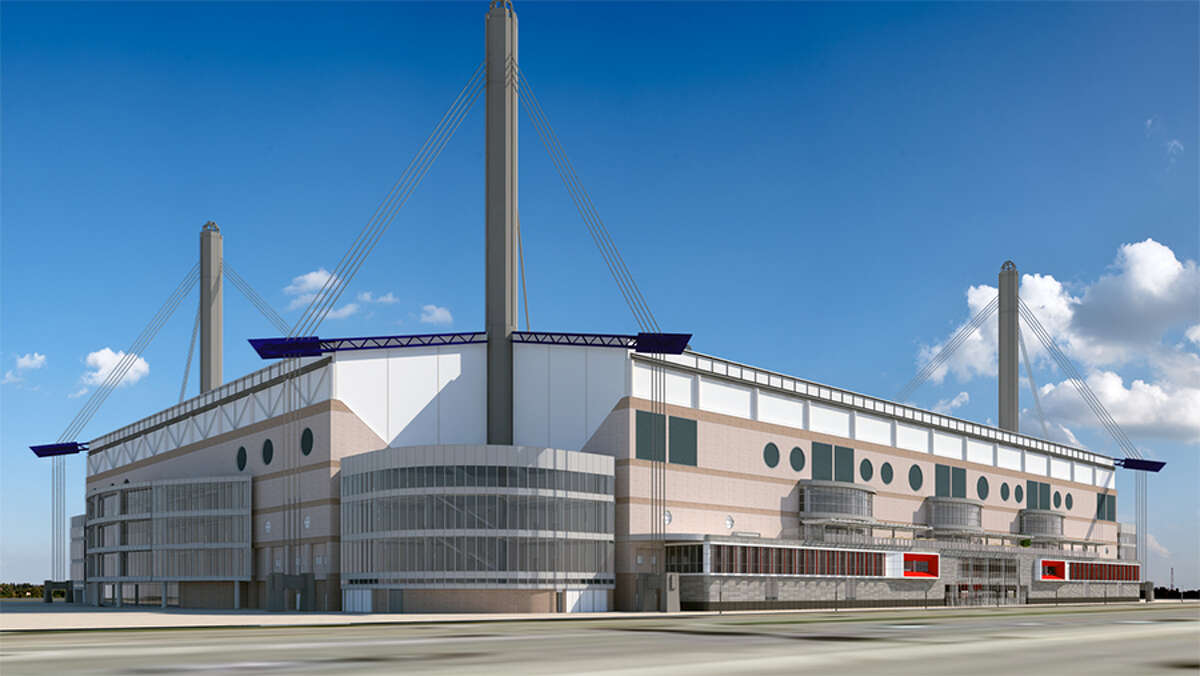 The renovations would add wings to east and west sides of the Alamodome, totaling 55,000 square feet of new space.