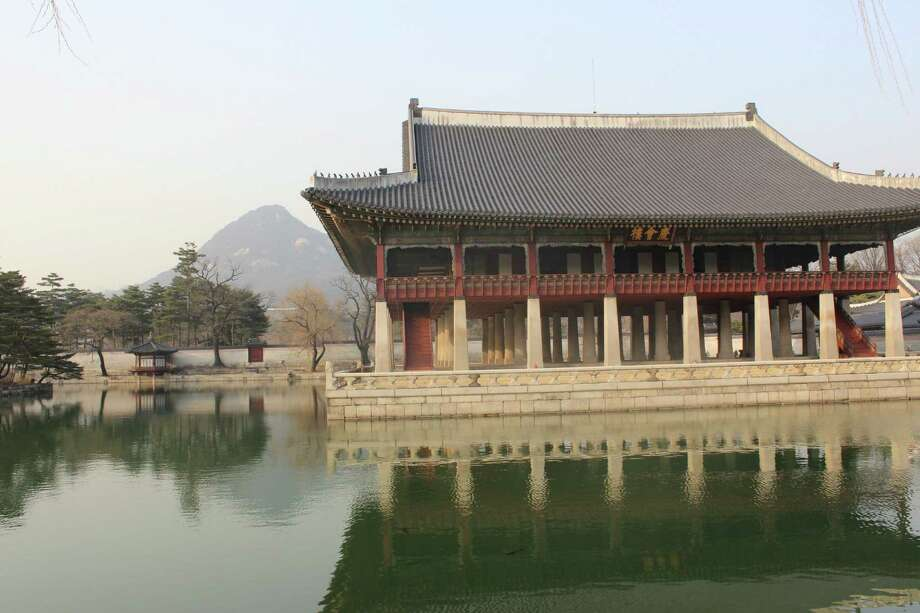 Gyeongbok Palace, built in the 1300s, is one of Korea's most well-known attractions and is located in the heart of Seoul. Photo: Kolten Parker, San Antonio Express-News