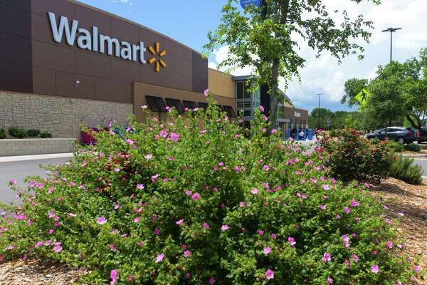 The Walmart Neighborhood Market at the intersection of Blanco Road and Wurzbach Parkway is seen Thursday afternoon June 18, 2015.