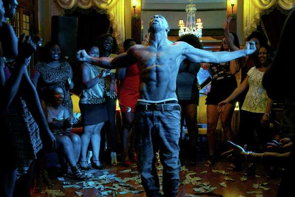 "This photo provided by Warner Bros. Pictures shows, Stephen ""Twitch"" Boss as Malik, in Warner Bros. Pictures', ""Magic Mike XXL,"" a Warner Bros. Pictures release. (Claudette Barius/Warner Bros. Pictures via AP) ORG XMIT: CAET130"
