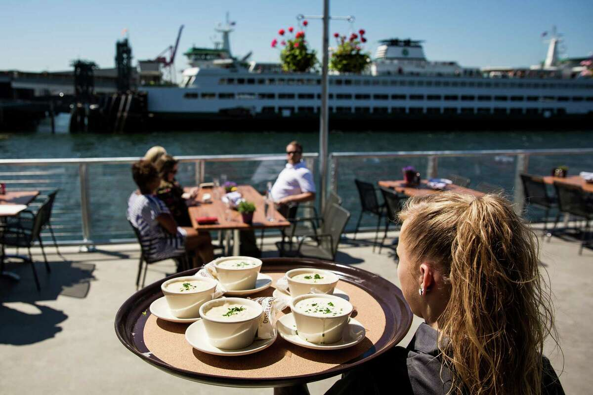 Enjoy the outdoor patios again Before sitting directly in the sun -- or anywhere without AC -- was a test of wills. Now you can partake in the fine tradition of enjoying Seattle summer with a local craft brew in hand.