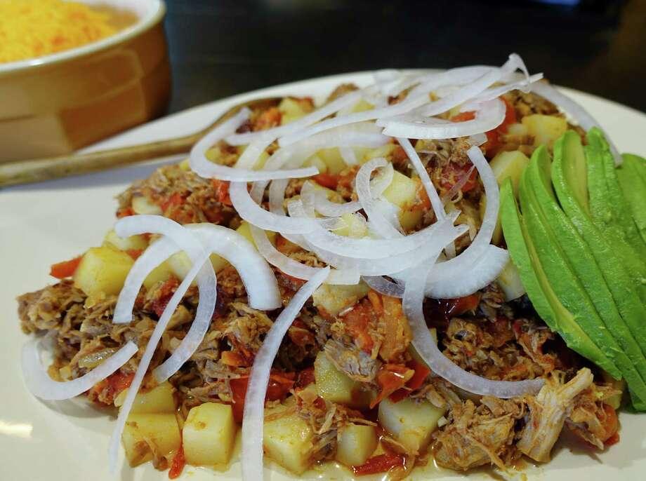 Austin restaurant El Naranjo's Tinga Poblana Photo: Courtesy Photo