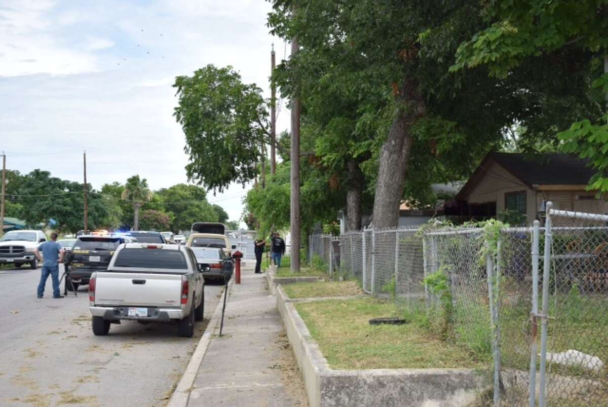 Authorities seized more than 50 roosters in a joint operation conducted by San Antonio Police and Animal Care Services at a home on the city's West Side Wednesday, July 1, 2015.