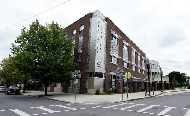 Exterior view of the Brighter Choice Middle Schools on Elk Street June 18, 2015, in Albany, N.Y.  (Skip Dickstein/Times Union) ORG XMIT: MER2015061815064158 Photo: SKIP DICKSTEIN