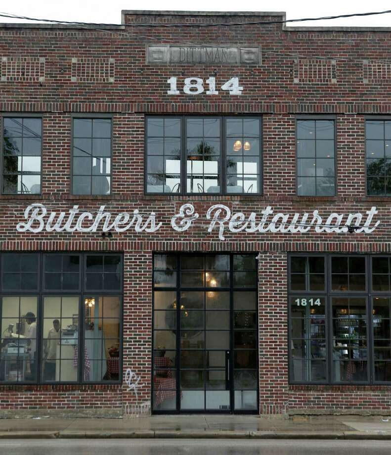 B&B Butchers & Restaurant, 1814 Washington, is a retail butcher shop and upscale steakhouse in the historic former Dittman Bakery, shown Wednesday, May 27, 2015, in Houston. ( Melissa Phillip / Houston Chronicle ) Photo: Melissa Phillip, Staff / © 2015  Houston Chronicle