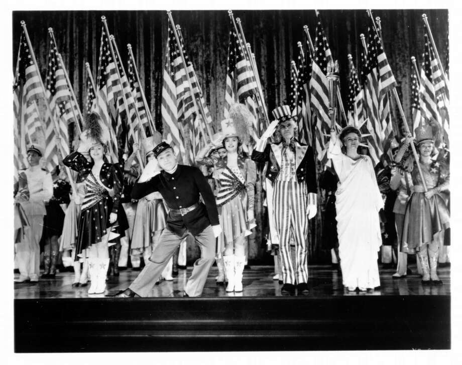 The Museum of Fine Arts, Houston.  James Cagney in ``Yankee Doodle Dandy,'' showing Febuary 17 at 2:00 p.m., as part of MFAH Family Flicks.     HOUCHRON CAPTION (02/14/2002):   JAMES CAGNEY STARS AS GEORGE M. COHAN IN ``YANKEE DOODLE DANDY,'' WHICH SCREENS SUNDAY AT THE MUSEUM OF FINE ARTS, HOUSTON.   sneak preview. Photo: No Info / handout print